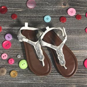 Healthtex size 10 beaded sandals